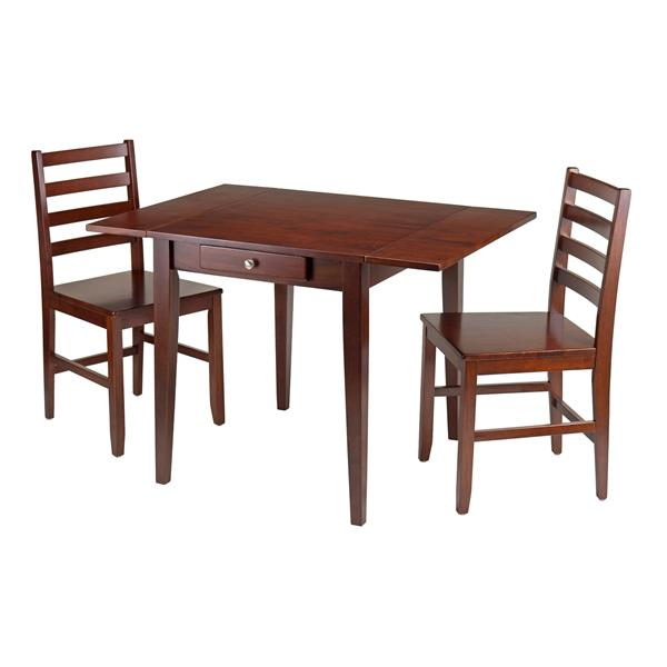 Winsome Wood Hamilton 3 Piece Dining Set