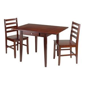 Ensemble de table à manger Hamilton, 3 pièces, 2 chaises