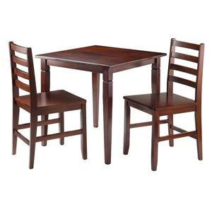 Winsome Wood Kingsgate 3 Piece Dining Set