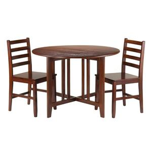 Winsome Wood Alamo 3-Piece Dinig Set with 2 Chairs