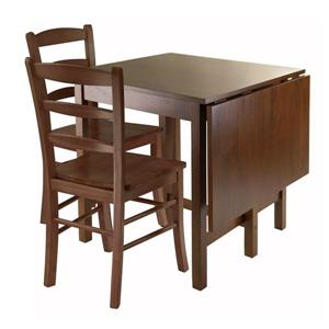 Winsome Wood Lynden 3 Piece Dining Set