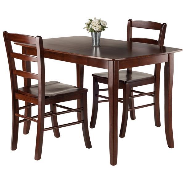Winsome Wood Inglewood 3 Piece Dining Set
