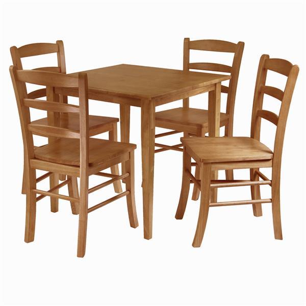 Ensemble de salle à manger Groveland, 5 pièces, 4 chaises