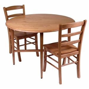 Winsome Wood Hannah 3 Piece Dining Set