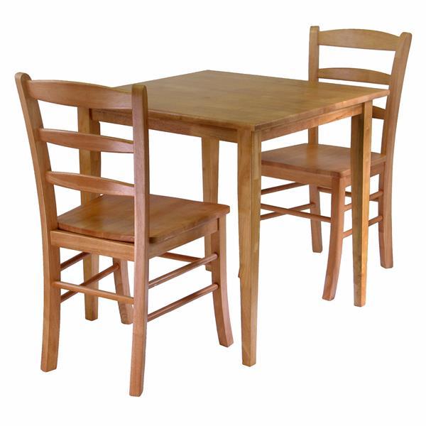 Ensemble de salle à manger Groveland, 3 pièces, 2 chaises