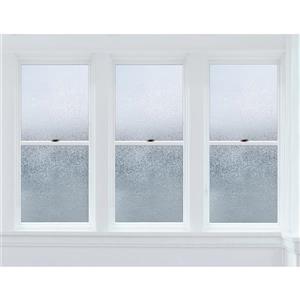 """Film haut de gamme pour fenêtre de glacier, 24"""" x 47"""""""
