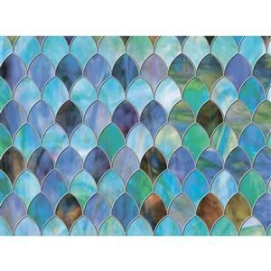 "Brewster Wallcovering Peacock Sidelight Premium Film - 11.5"" x 78"""