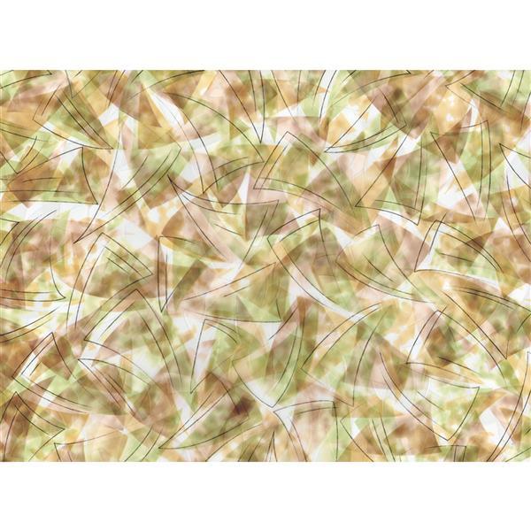 """Brewster Wallcovering Brushstrokes Sidelight Premium Film - 11.5"""" x 78"""""""