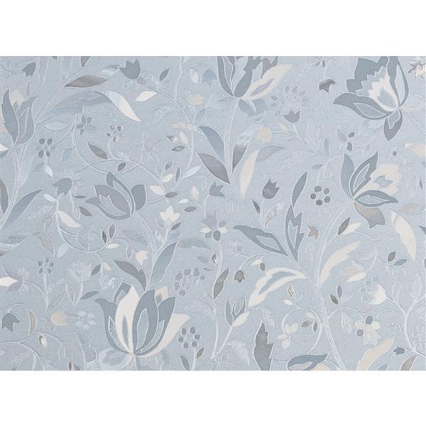 "Brewster Wallcovering Cut Floral Door Premium Film - 35.25"" x 78"""