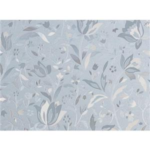 "Brewster Wallcovering Cut Floral Door Premium Film - 35.25"" x 78"""