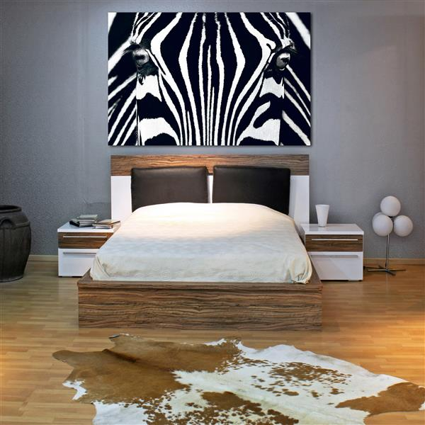 """Brewster Wallcovering Black and White Wall Mural - 45"""" x 69"""""""