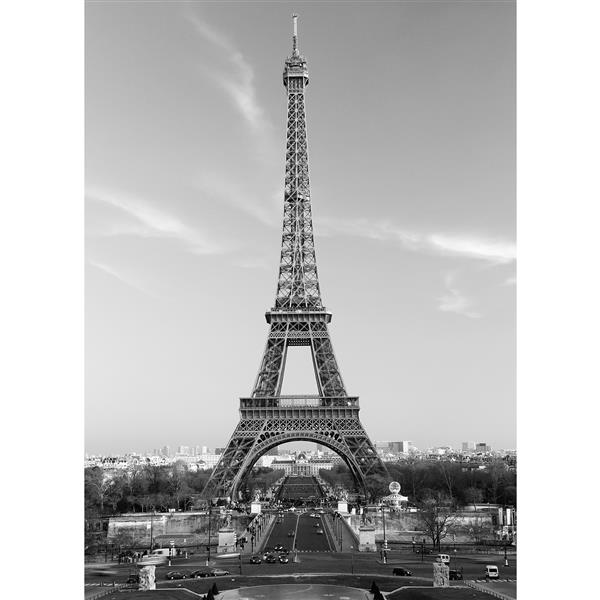 "Brewster Wallcovering La Tour Eiffel Wall Mural - 100"" x 72"""