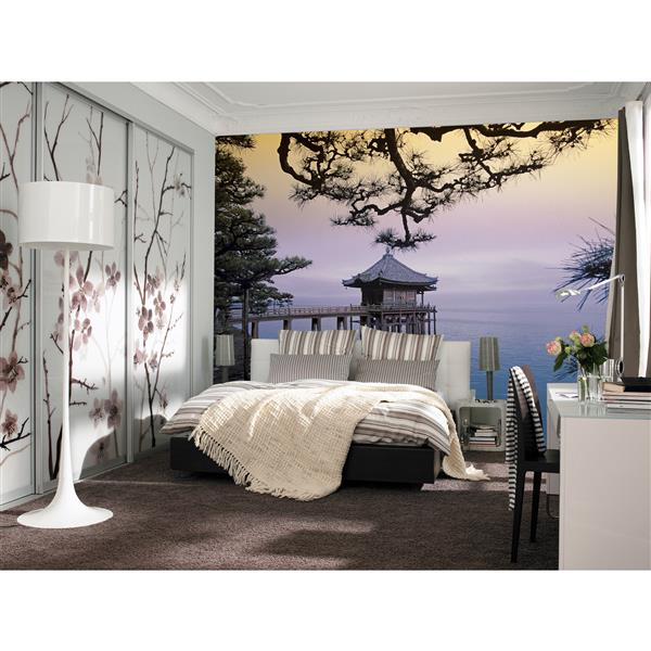 "Brewster Wallcovering Zen Wall Mural - 100"" x 144"""