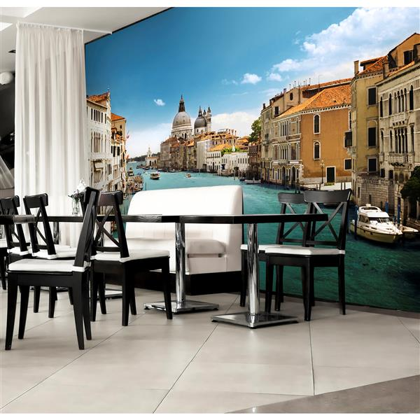 """Brewster Wallcovering Grand Canal Venice Wall Mural - 100"""" x 144"""""""