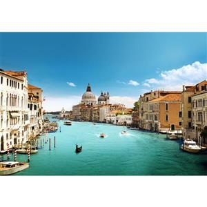 "Grand Canal mural de Venise, 100"" x 144"""