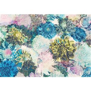 Frisky Flowers Wall Mural - 100