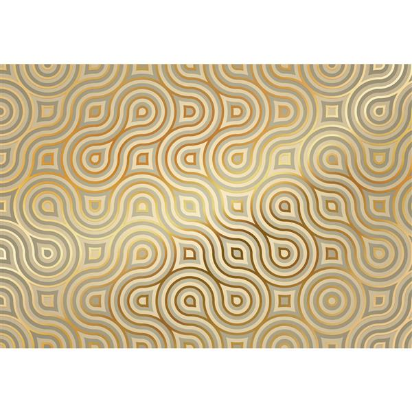 """Brewster Wallcovering Meander Wall Mural - 100"""" x 145"""""""