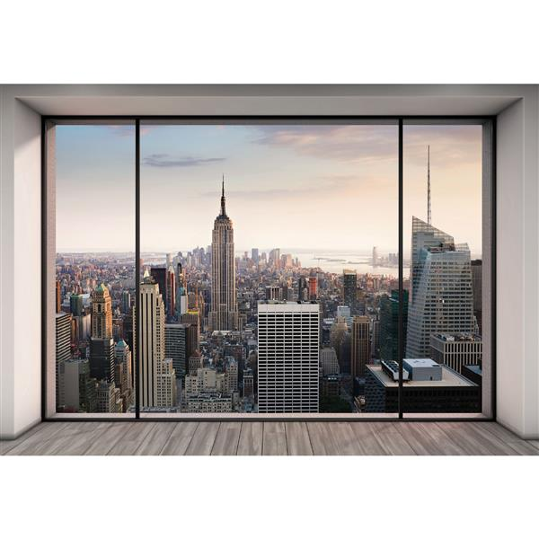 "Brewster Wallcovering Penthouse Wall Mural - 100"" x 145"""