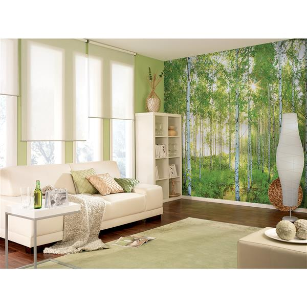 "Brewster Wallcovering Sunday Wall Mural - 100"" x 145"""