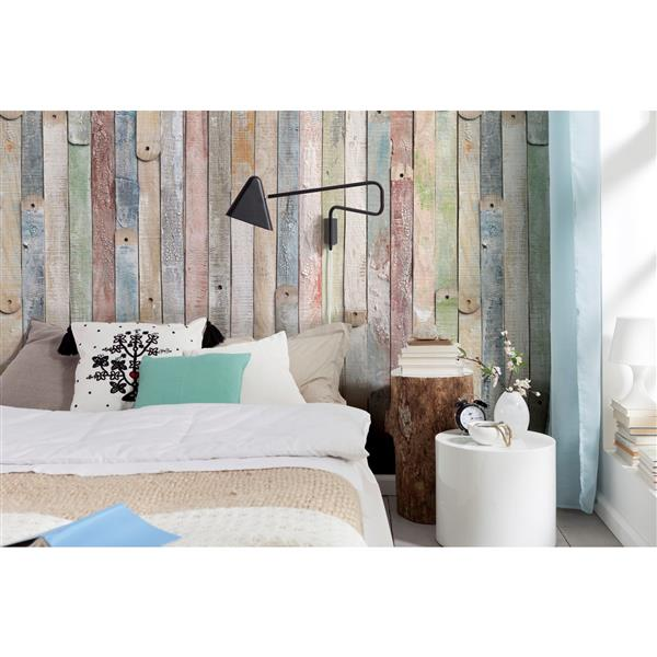 "Brewster Wallcovering Vintage Wood Wall Mural - 100"" x 72"""