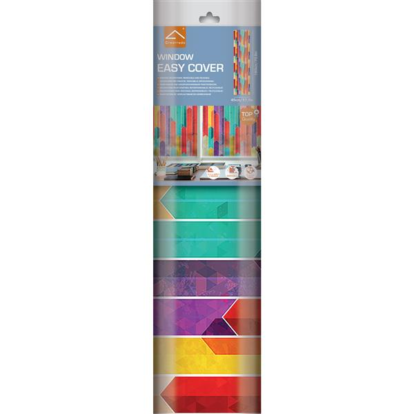WallPops Graffiti Premium Window Film - 17.71-in x 70.86-in
