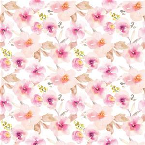 Pink Flower Premium Window Film - 17.71