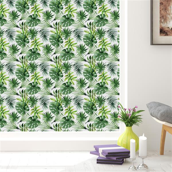 WallPops Tropical Premium Window Film - 17.71-in x 70.86-in