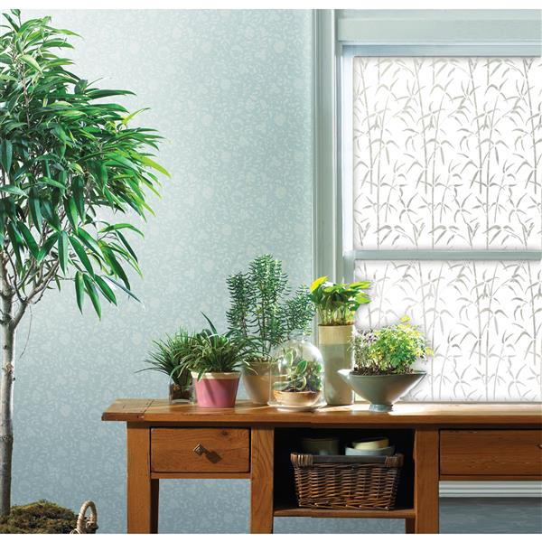 WallPops Bamboo Window Privacy Film - 17.71-in x 78.74-in
