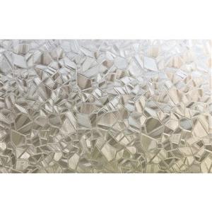 WallPops Mosaic Door Privacy Film - 35.43-in x 78.74-in