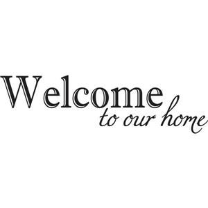 WallPops Welcome Wall Quote - 19.5-in x 17.25-in