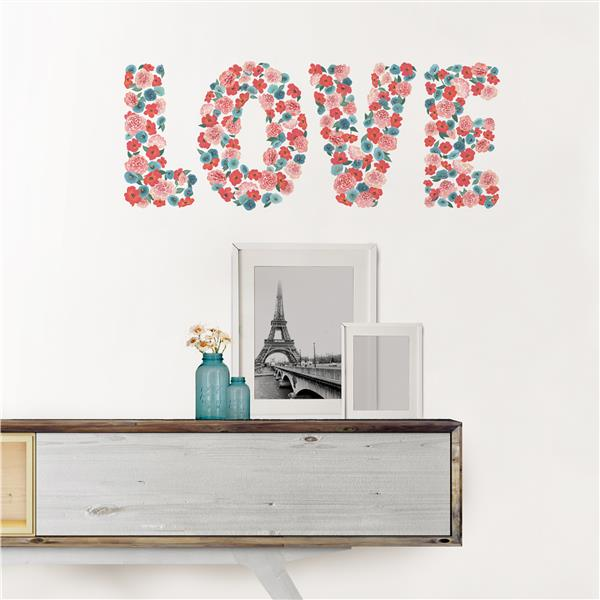 WallPops Love Wall Quote - 19.5-in x 17.25-in