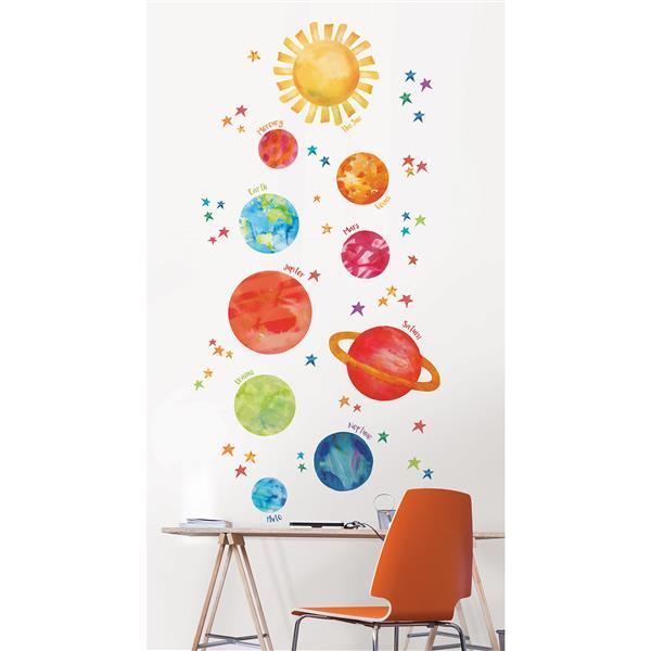 WallPops Galaxy Wall Art Kit - 36-in x 48-in