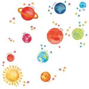 "Trousse d'art mural galaxie WallPops,  36"" x 48"""