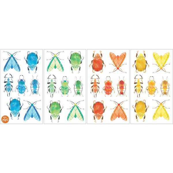 "Trousse d'art mural insectes WallPops, 34,5"" x 19,5"""