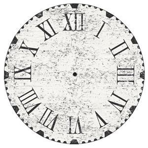 """Trousse d'art mural d'horloge récupérée WallPops,  36"""" x 48"""""""