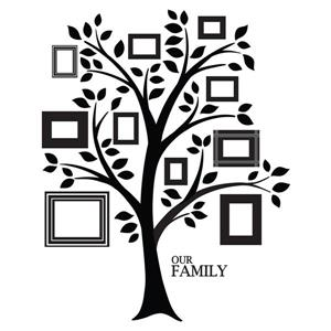 """Ensemble d'art mural de l'arbre de la vie WallPops,  36"""" x 48"""""""