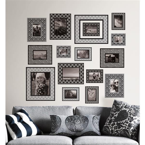 WallPops Photo Gallery Wall Art Kit - 39-in x 34.5-in