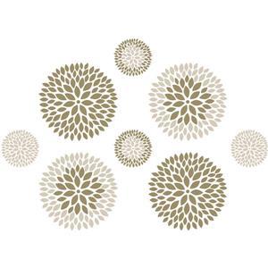 Chrysanthemum Wall Art Kit - 39