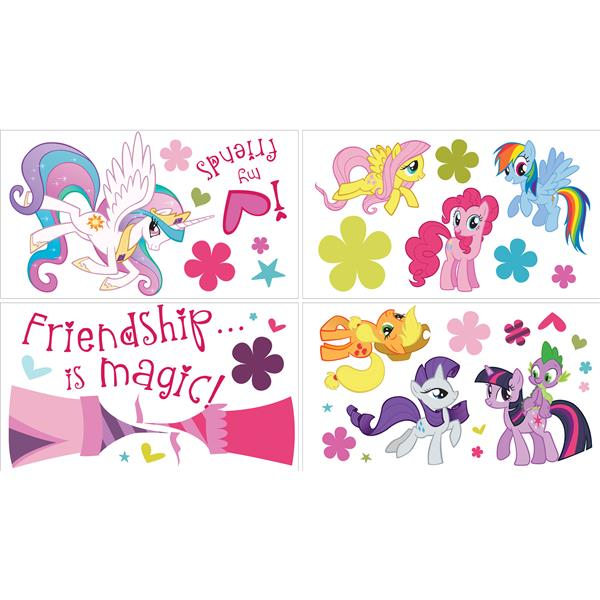 WallPops My Little Pony Stickers - 34.5-in x 19.5-in