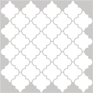 WallPops Peel & Stick Backsplash Tiles - Four Panels - 20-in x 20-in