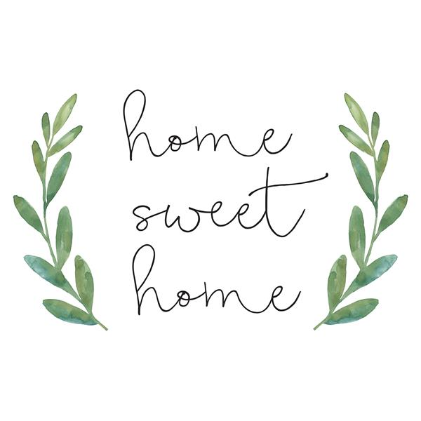 WallPops Home Sweet Home Wall Quote - 23-in x 14-in