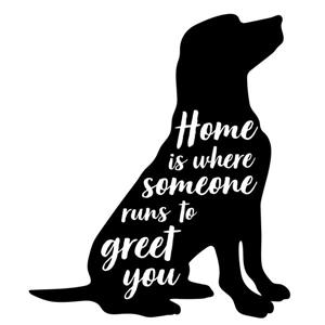 Home is Where Someone Wall Art Kit - 22