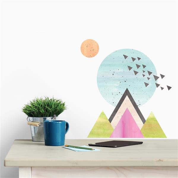 WallPops Elevation Wall Art Kit - 22-in x 20-in