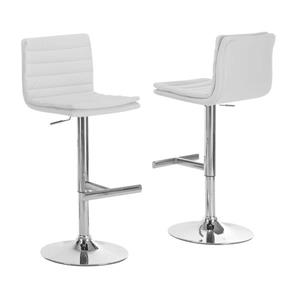 Monarch 25-in Faux Leather Barstools (Set of 2)