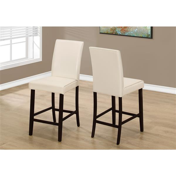 Monarch  Ivory Dining Chairs 24.5-in (Set of 2)