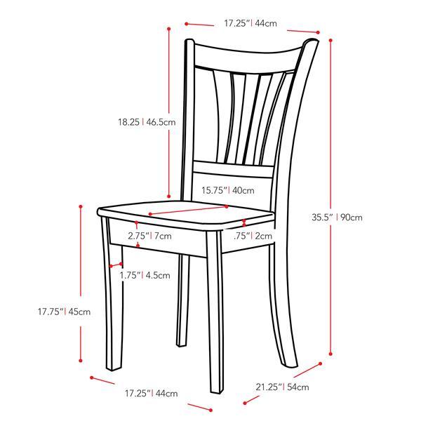 Ensemble de salle à manger extensible, bois, blanc, 5 mcx
