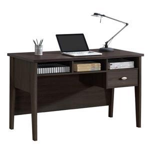 Corliving Folio Espresso Single Drawer Desk