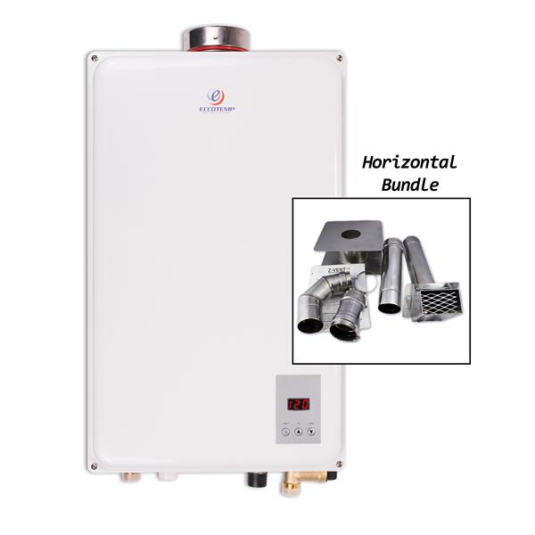 Eccotemp 45HI-NG 4-in Wall Vent Tankless Water Heater