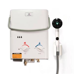 Portable Gas Tankless Water Heater - 37,000 BTU