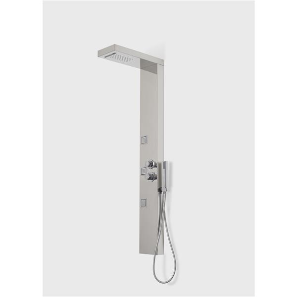 A&E Bath & Shower Vista V Bath and Shower Panel - Chrome